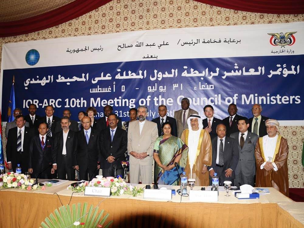 10th Meeting of the Council of Ministers (COM), Sana'a, Yemen, 05 August 2010