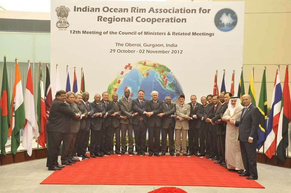 12th Meeting of the Council of Ministers (COM), Gurgaon, India, 02 November 2012