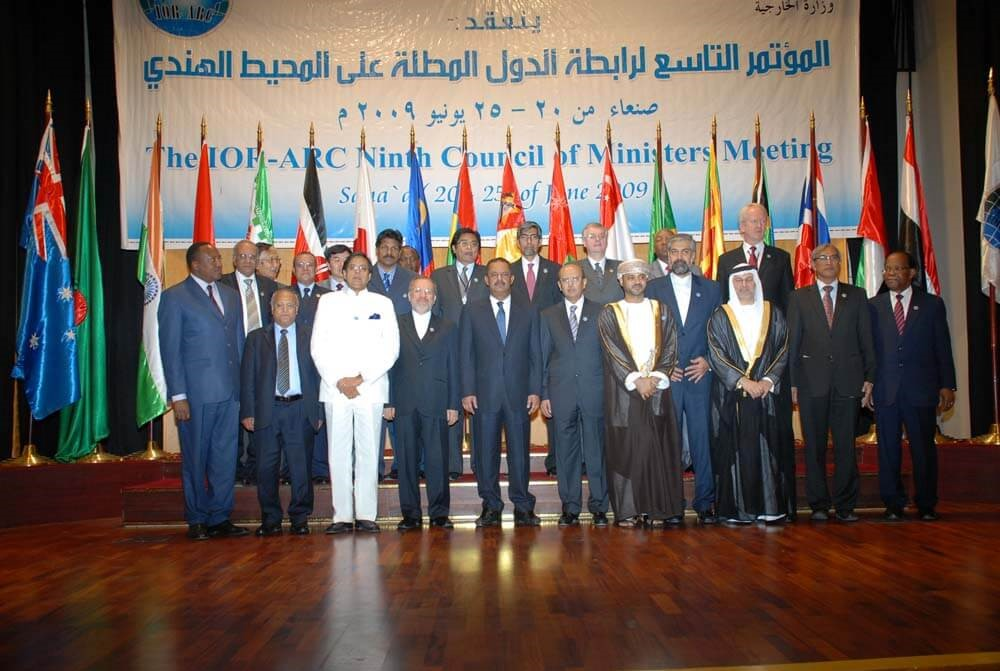 9th Meeting of the Council of Ministers (COM) Sana'a Yemen, 25 June 2009