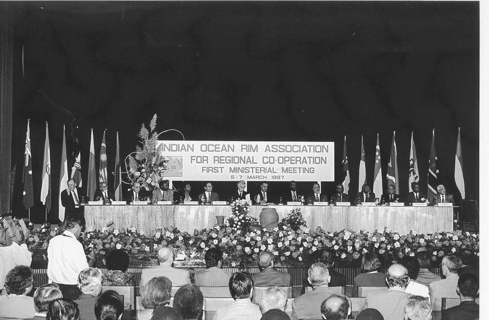 Indian Ocean Rim Association For Regional Cooperation (IORA-ARC) 1st Ministerial Meeting, Mauritius,  5-7 March 1997