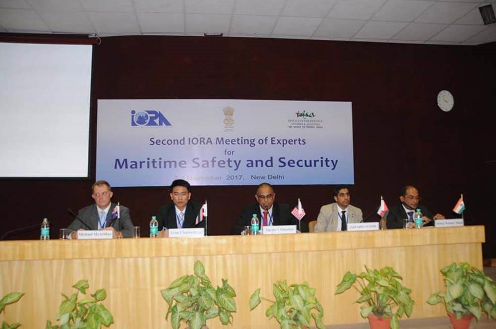 Second IORA Meeting of Experts on Maritime Safety and Security