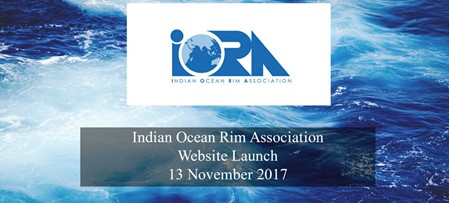 Indian Ocean Rim Association Website Launch