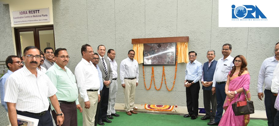 Inauguration of IORA-RCSTT Coordination Centre on Medicinal Plants at CSIR-CIMAP, Lucknow