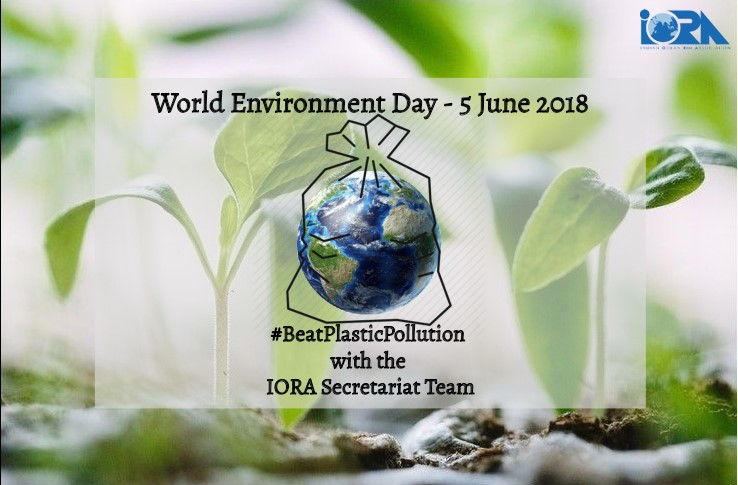 World Environment Day - #BeatPlasticPollution with the IORA Secretariat Team