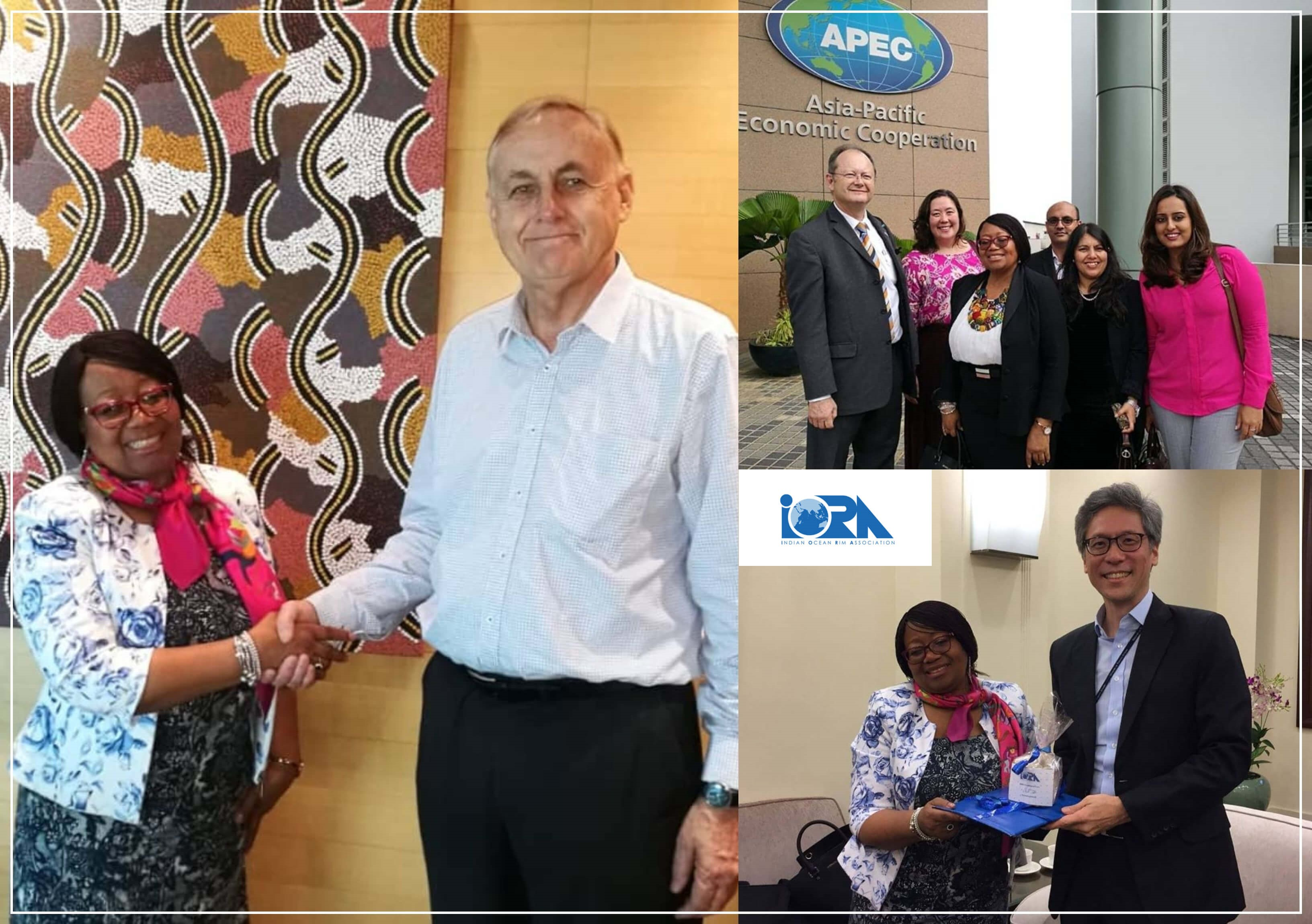 APEC and IORA Secretariat Exchange