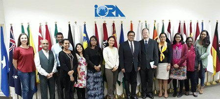 H.E. Sanjay Panda - Courtesy Call to the IORA Secretariat