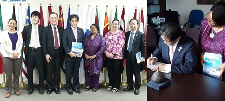 H.E. Mr. Ichiro Aisawa - Courtesy Call to the IORA Secretariat
