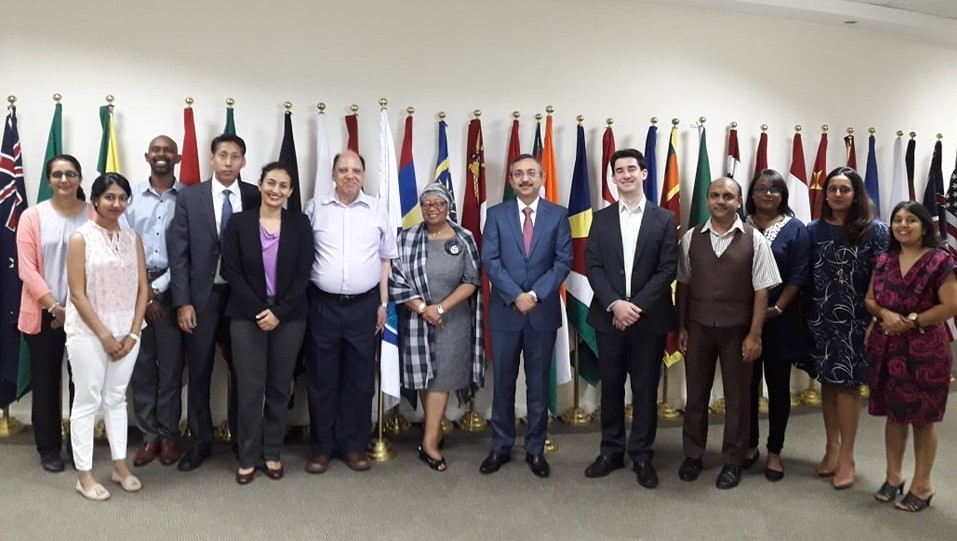 H.E. Ambassador Tanmaya Lal - Courtesy Call to the IORA Secretariat