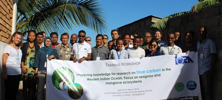IORA Workshop on Improving knowledge for research on Blue Carbon in the Western Indian Ocean