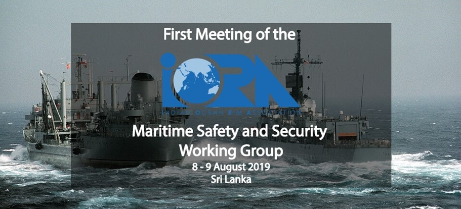 First Meeting of the IORA Maritime Safety and Security Working Group