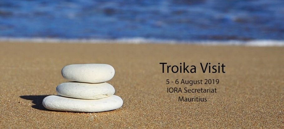 Welcoming the IORA Troika to Mauritius