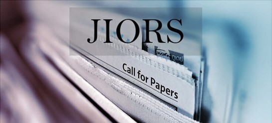JIORS Call for Papers Vol 3 - Issue 1 - October 2019