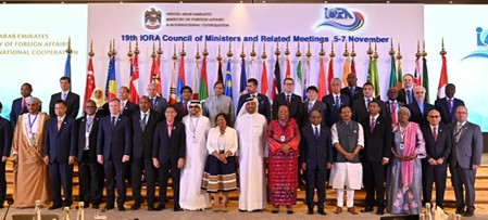 Official Press Release: 19th IORA Council of Ministers Meeting on 7 November 2019 in Abu Dhabi, United Arab Emirates