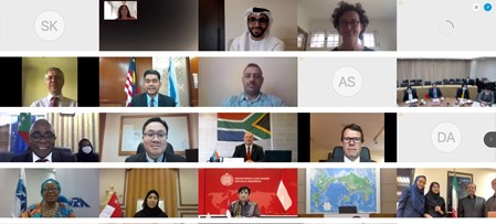 Virtual Meeting of the Committee of Senior Officials (CSO) and Dialogue Partner Engagement on COVID-19: Responses, Cooperation, and Partnerships