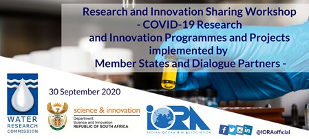 COVID-19 Research and Innovation Programmes and Projects Implemented by IORA Member States and Dialogue Partners