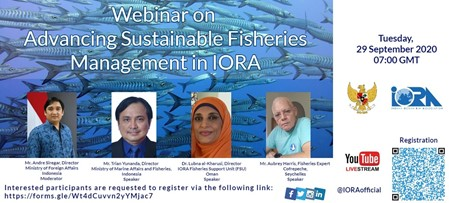 Webinar on Advancing Sustainable Fisheries Management in IORA