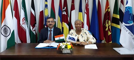Welcoming India as the 14th Signatory of the IORA MoU on Search and Rescue