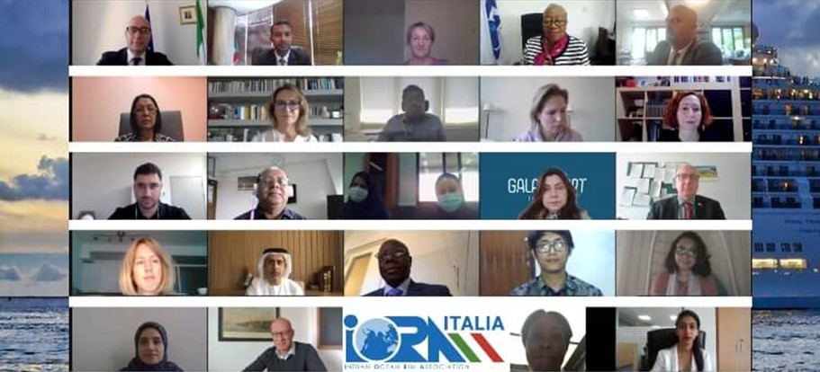 Italy-IORA Dialogue Partnership IORA Webinar on Developing Sustainable Cruise Tourism