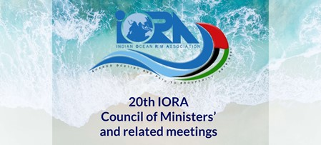 UAE to host the 20th IORA Council of Ministers' Meeting