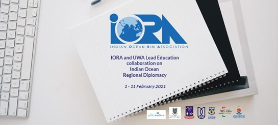 IORA and UWA lead education collaboration on Indian Ocean Regional Diplomacy