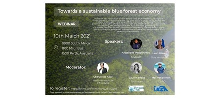 "Webinar on ""Towards a Sustainable Blue Forest Economy"""
