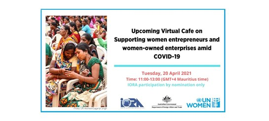 Virtual Café for Women Entrepreneurs in the Indian Ocean