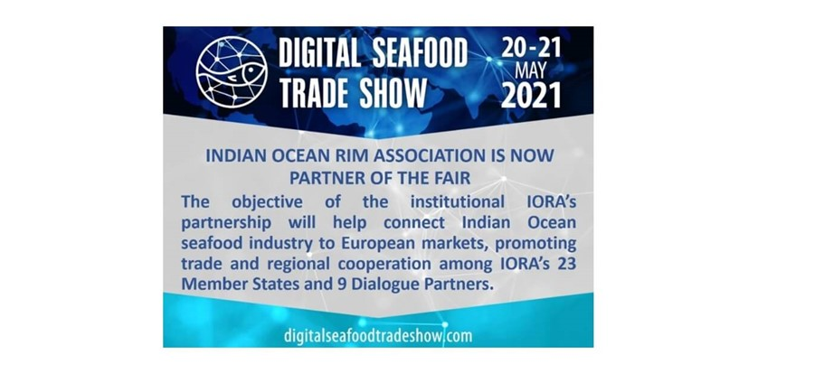 Calling all seafood companies! IORA is partnering with Italy for the Digital Seafood Trade Show on 20-21 May