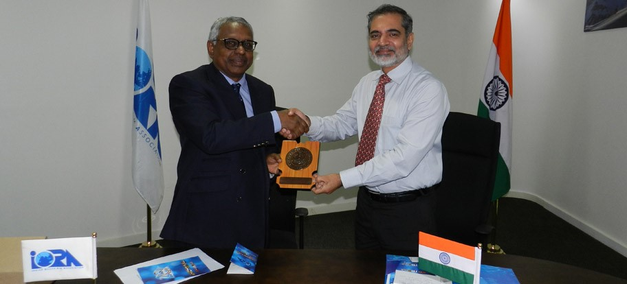 Visit by the Delegates of the National Defence College (NDC), India.